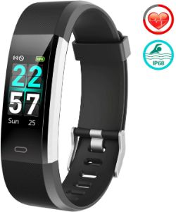 FitFort Fitness Tracker Color Screen