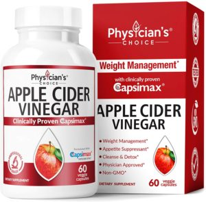 Apple Cider Vinegar Capsules for Weight Loss Support