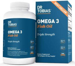 Dr. Tobias Omega-3 Fish Oil Triple Strength