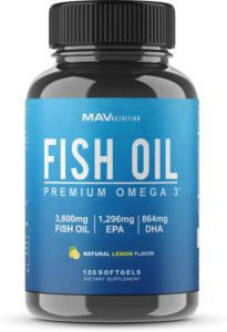 MAV Nutrition Omega 3 Fish Oil