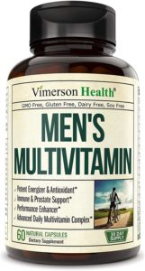 Men's Daily Multivitamin by Vimerson Health