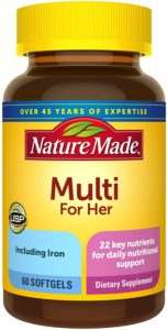 Nature Made Women's Multivitamin Softgels