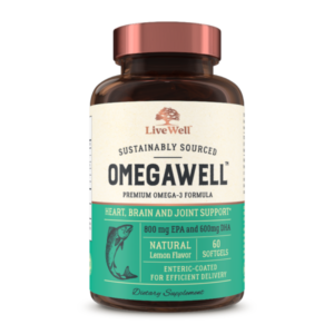 Omegawell by LiveWell Labs