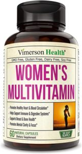Women's Daily Multivitamin by Vimerson Health