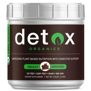 Detox Organics Chocolate Superfoods