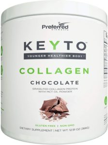 Keto Collagen Protein Powder with MCT Oil