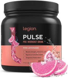 Legion Pulse Natural Pre-Workout Drink