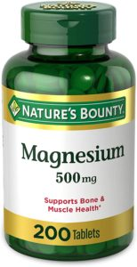 Magnesium by Nature's Bounty