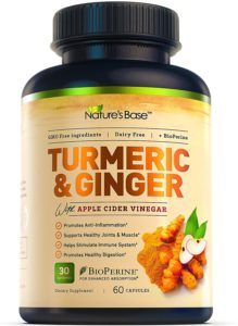 Nature's Base Turmeric Curcumin with Ginger