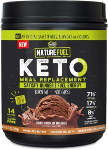 Nature Fuel Keto Meal Replacement Powder