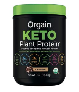 Organ Keto Plant-Based Protein Powder