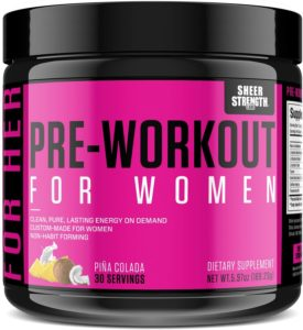 Pre-Workout for Women by Sheer Strength Labs