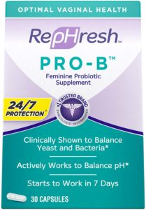 Rephresh Pro-B Probiotic Supplement for Women
