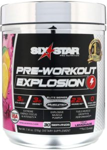 Six Star Explosion Pre-Workout